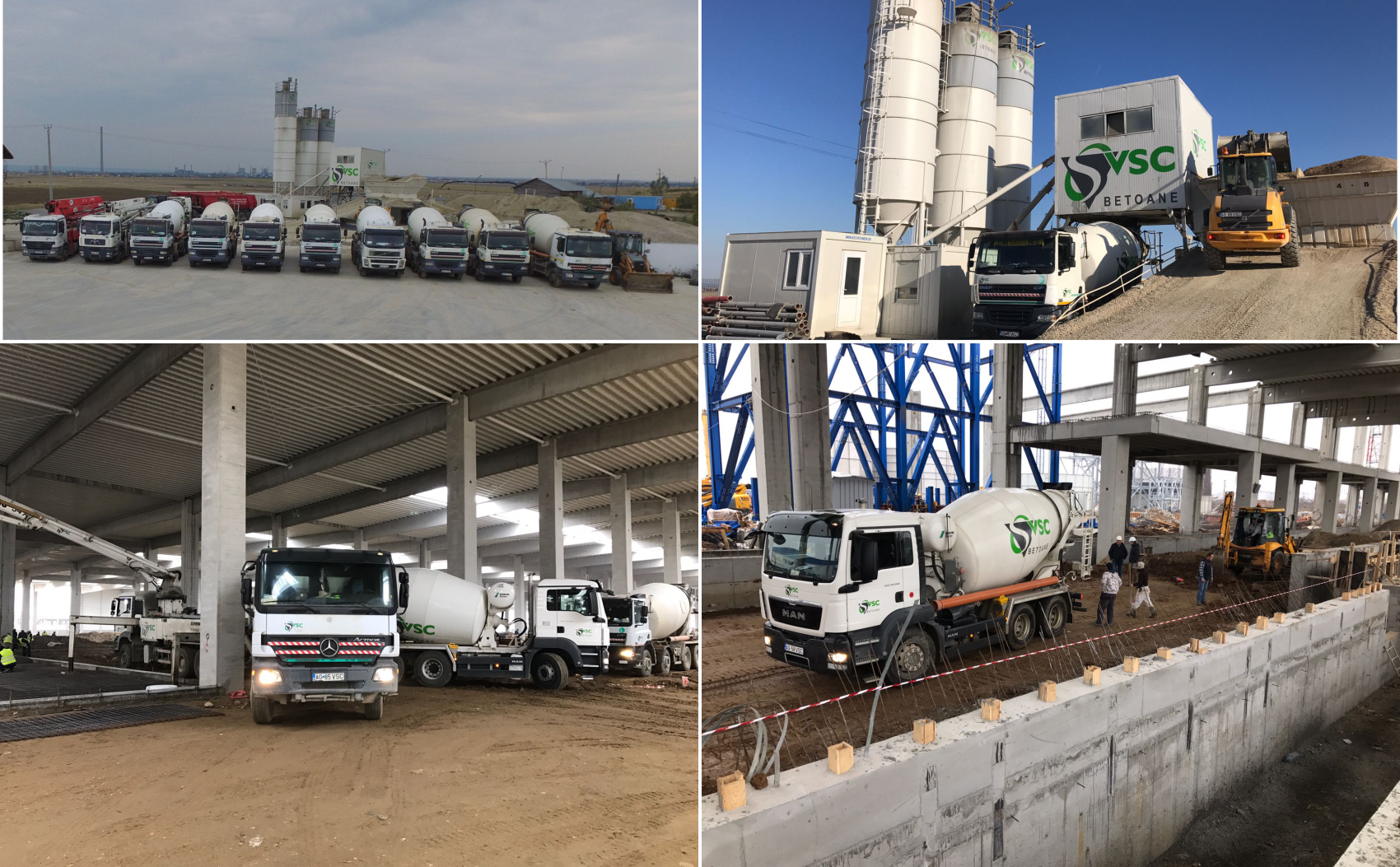 Transport beton VSC Pitesti